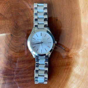 Michael Kors Silver Watch, Slim Runway